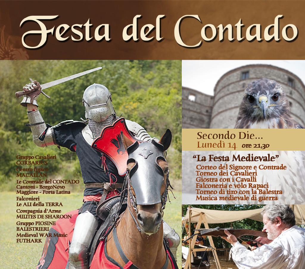 CONTADO - FESTA MEDIEVALE 2017